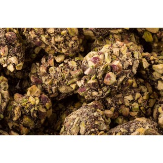 Medjool Dates- White Chocolate Coated with Pistachio (450g)
