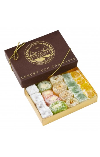 Assorted Turkish Delight | Gift Box | 500g | Château de Mediterranean