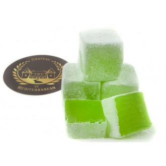 Mint Flavour | Fresh Turkish Delight | 500g | Chateau de Mediterranean | Gift Box