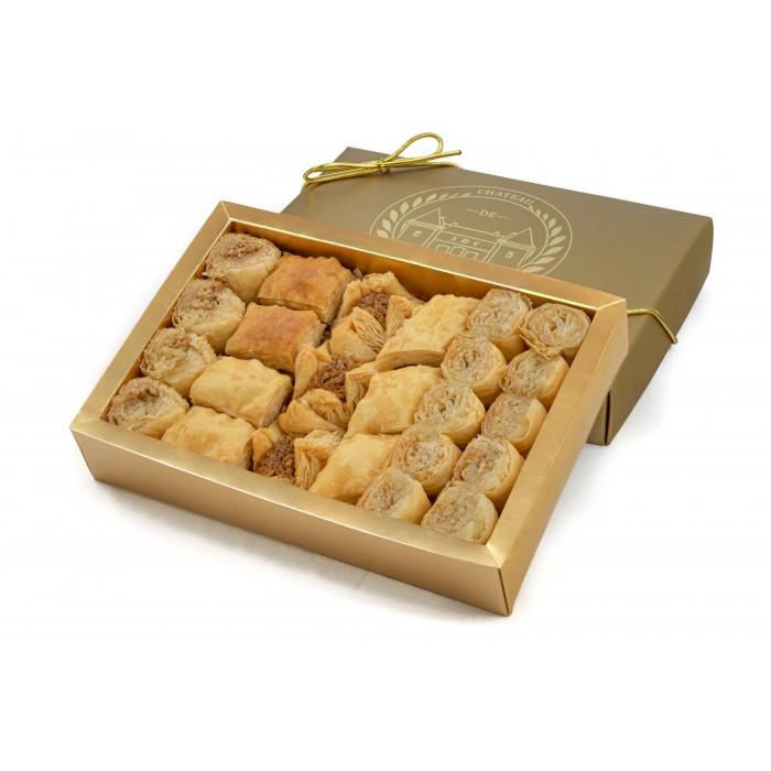 Baklava | Bites size | Baked to Order | 24 Pieces | Château de Mediterranean | Baklava Gift Box