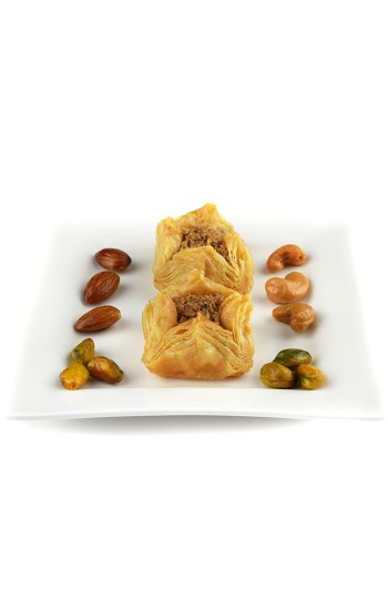500 g Boukaj Baklawa Baklava Home Made Recipe Freshly Baked and Shipped UK