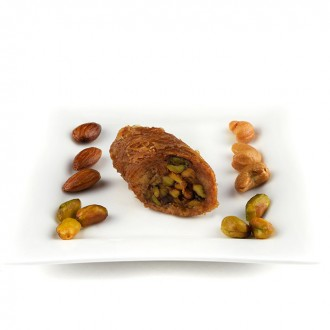 1 kg Bourma Pistachio Baklawa BaklavaHome Made Recipe Freshly Baked and Shipped