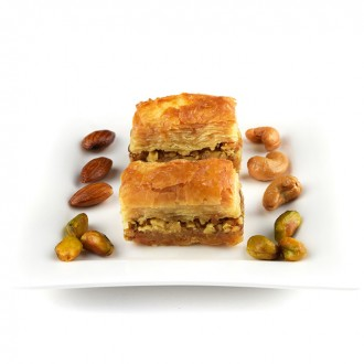 1 kg Walnut Baklawa Baklava Home Made Recipe Freshly Baked and Shipped