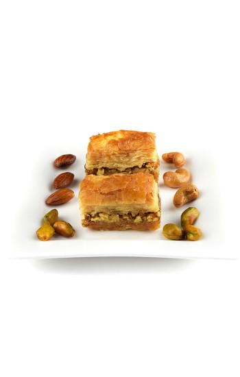 500 g Walnut Baklawa Baklava Home Made Recipe Freshly Baked and Shipped