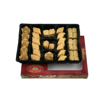 SMALL Assorted Baklava 1KG | Baklawa Baklava Home Made Recipe Freshly Baked and Shipped