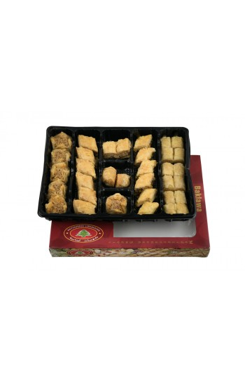 SMALL Assorted Baklava 500g | Baklawa Baklava Home Made Recipe Freshly Baked and Shipped