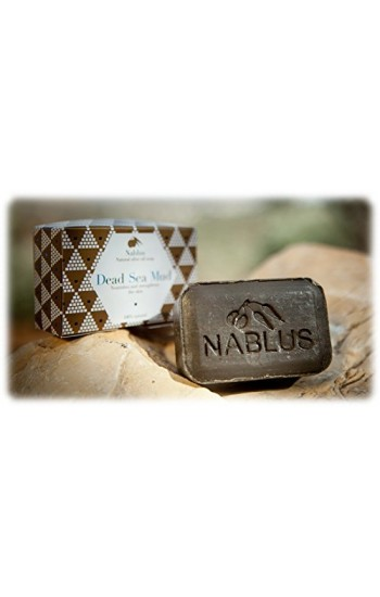 Nablus | Dead Sea Mud | Authentic Olive Oil Soap | Certified Organic and Vegan