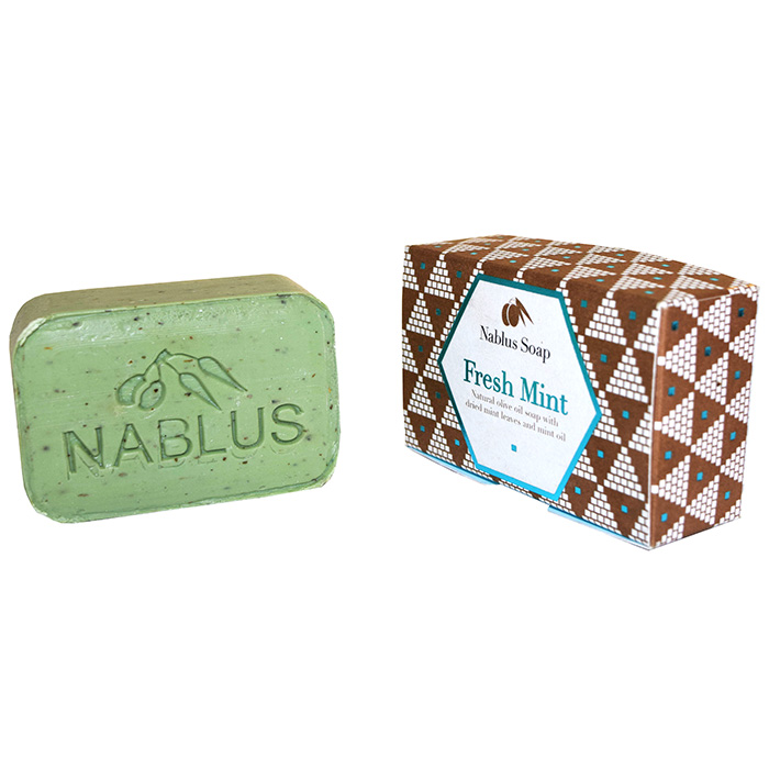 Nablus Fresh Mint Natural Olive Oil Soap