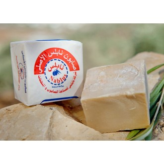 Nablus (Traditional) soap | Certified Organic and Vegan | Natural Olive Oil Soap 130g | Old packaging REDUCED TO CLEAR