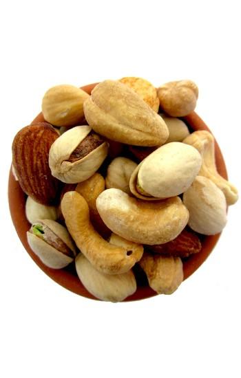 200 g Luxury Mixed Nuts Extra Super Cashew Almond Pistachio & Hazelnut Freshly Roasted Nuts